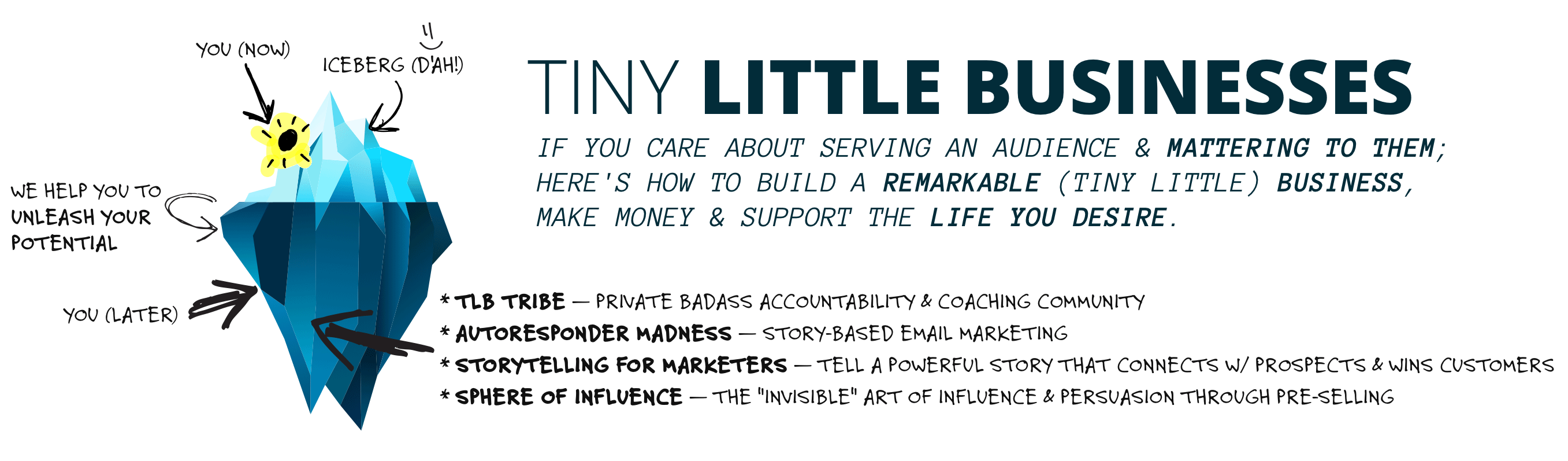 Tiny Little Businesses (TLB) | by Andre & Anita Chaperon