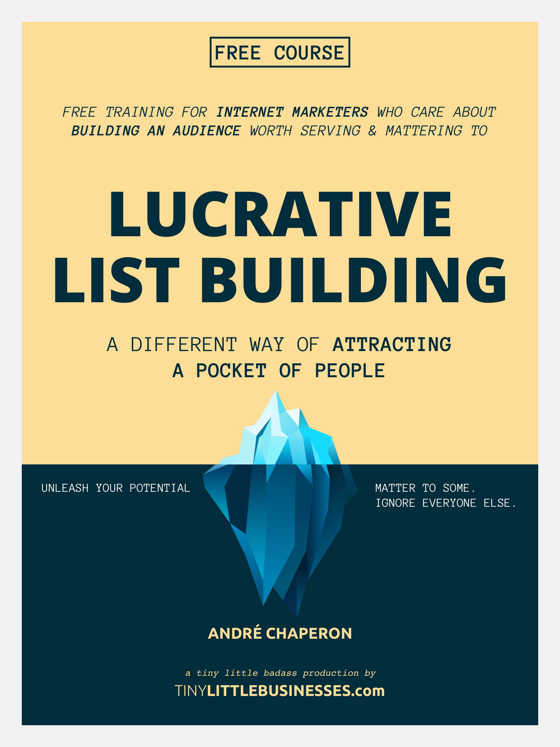 Lucrative Email List Building