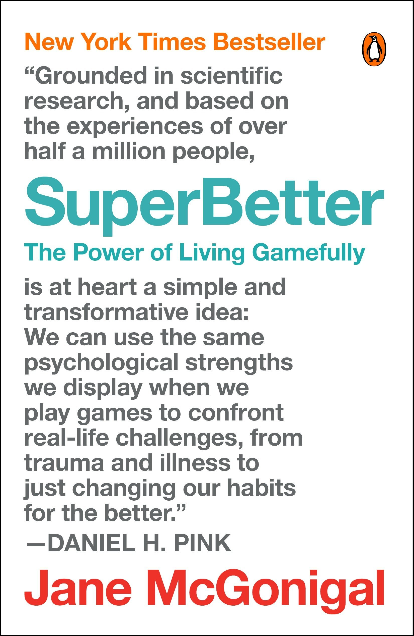 SuperBetter (Jane McGonigal)
