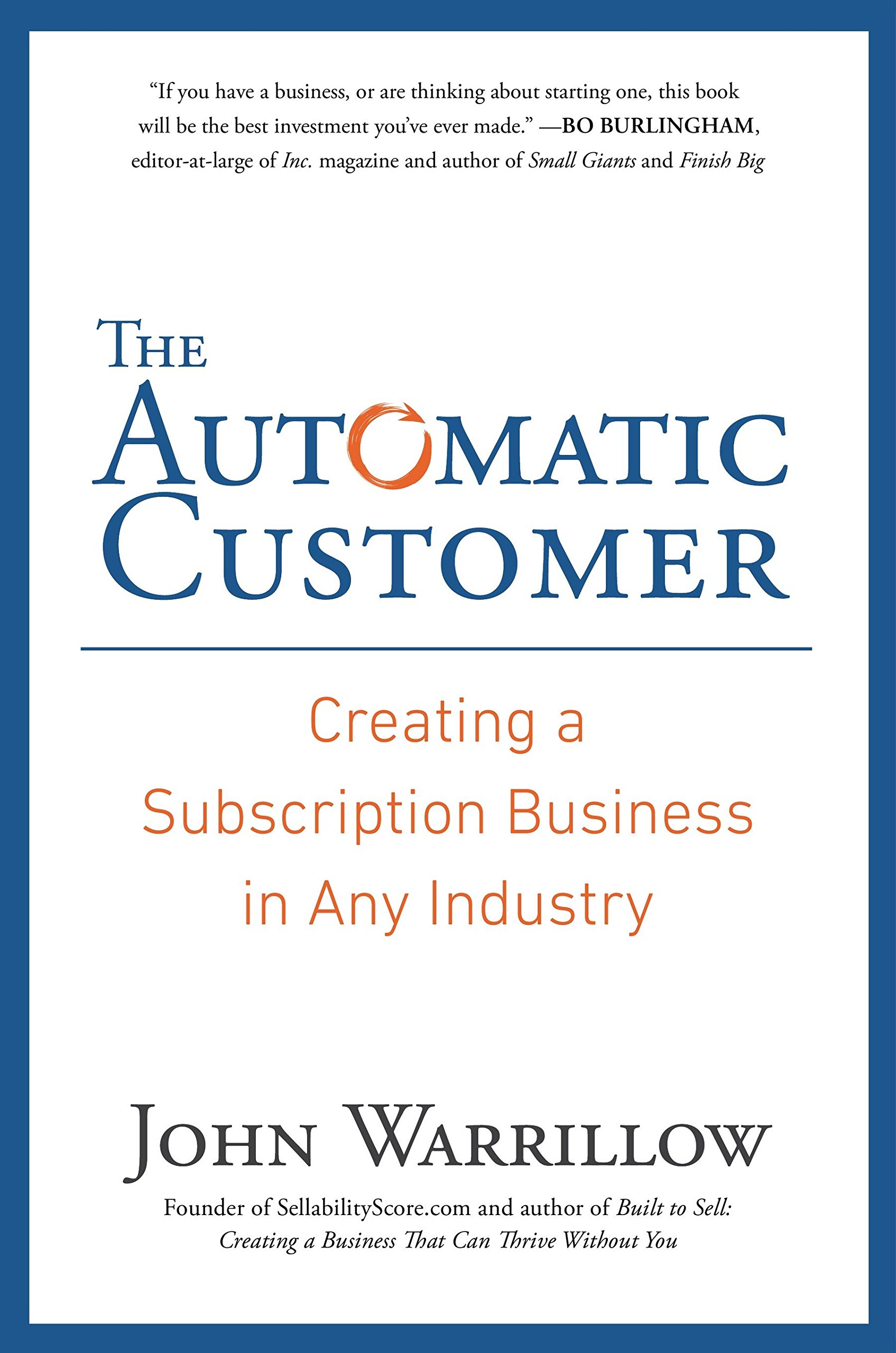 The Automatic Customer (John Warrillow)