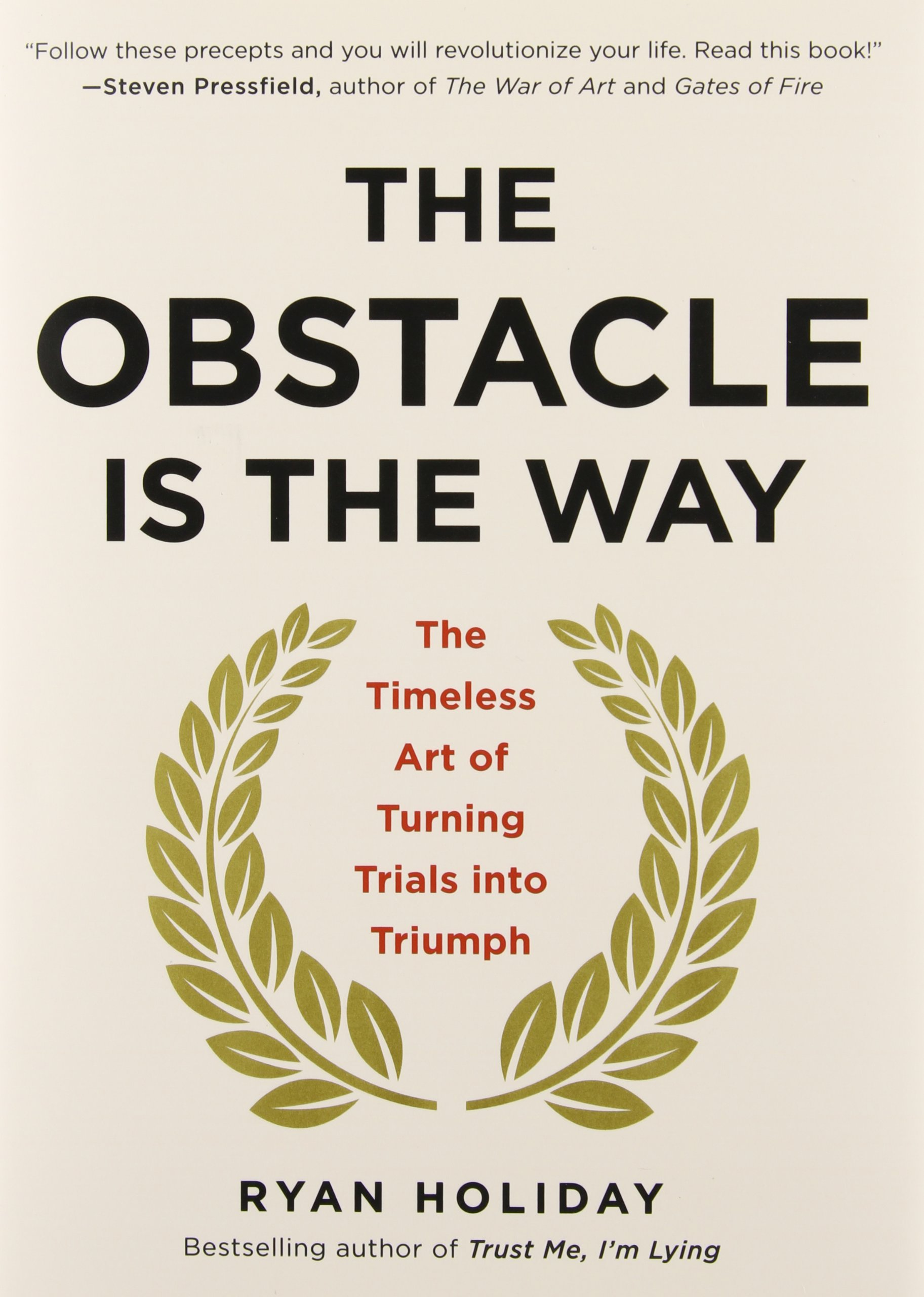 The Obstacle Is the Way (Ryan Holiday)